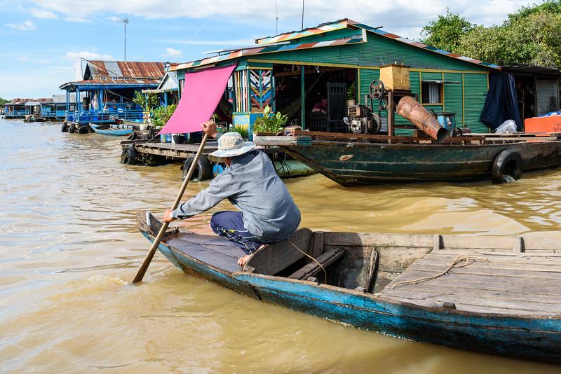 Tonlé Sap Floating Village
