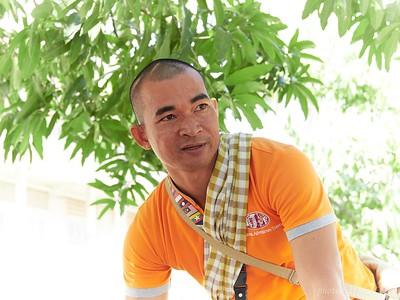 Tea, our local guide for Cambodia