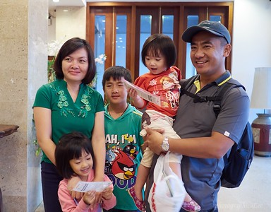 Our local guide for Laos, Souk, and his family