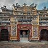 Gate at the Citadel, Hue, Vietnam