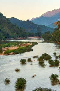 Nam Ou River, Nong Khiaw