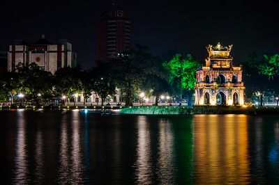 Turtle Tower & Hoan Kiem Lake