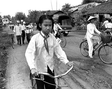 Cyclist- Ra Kien, Vietnam