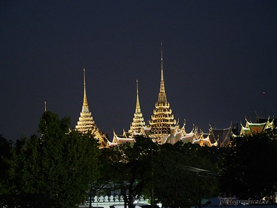 The Grand Palace at night