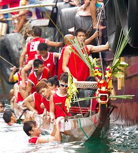 dragon boat aberdeen fishing village