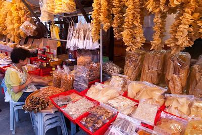 Tai O Village dried fish stall