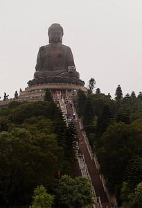 Lantau Ourdoor Sitting Buddha a
