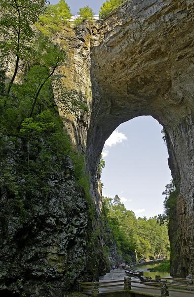 HDR of Natural Bridge