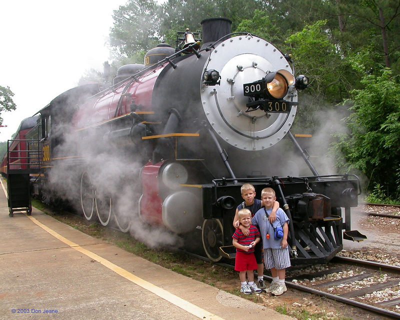 Texas State Railroad - Old No. 300.