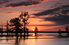 Morning sunrise, Steinhagen Lake, Oct 18, 2012.