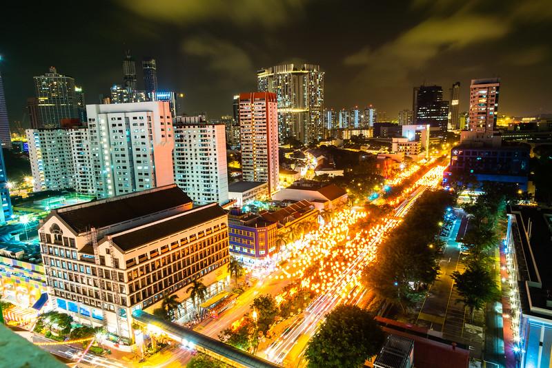 Singapore Chinatown at Night