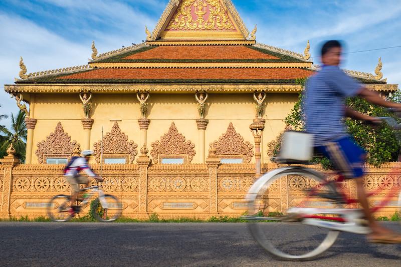 Cambodia Biking