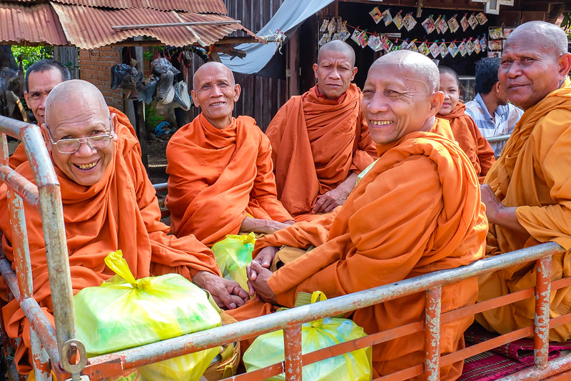 Laughing Monks