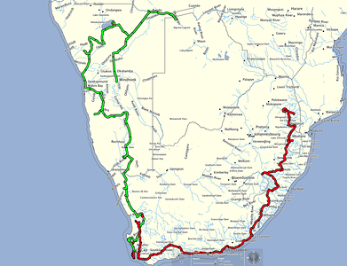 Southern Africa Maps