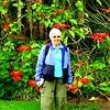 22 Jan with pointsetta bush,VOC Gardens, Cape Town, sep 29, 2016 IMG_09181