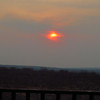Sunset from our room, Victoria Falls Lodge, Zimbabwe, oct 10, 2016 IMG_3671