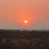 1-Sunset form our patio, Victoria Falls Safari Lodge, Zimbabwe, oct 11, 2016 IMG_39861
