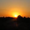 Sunset near Johannesburg, SA, oct 7, 2016  IMG_2882