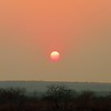 1-Sunset form our patio, Victoria Falls Safari Lodge, Zimbabwe, oct 11, 2016 IMG_39931