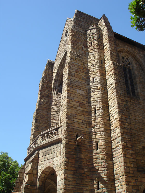 St. Georges Catherdral - central in the fight against Apartheid
