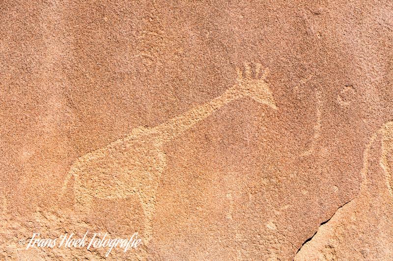 Rock inscriptions at Twyfelfontein