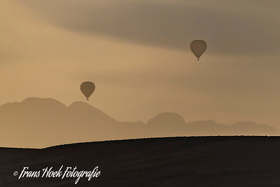 Balloons at sunrise in Sosusvally