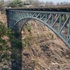 Victoria Falls Bridge, anyone for a Bungy jump