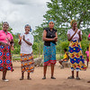 Village Women Chanting, near Hwange NP, Zimbabwe