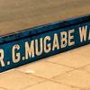 Harare street named after President Robert Mugabe.