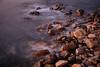 Rocks at sunset at Luderitz, Namibia