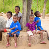 Village Children Near Hwange NP, Zimbabwe