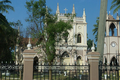 One of the many churches that I saw in Sri Lanka.  Negombo, my first destination in Sri Lanka is mainly Christian.