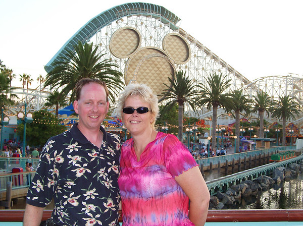 Anniversary trip to Knotts and Disney, 2003