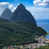 Gros Piton and Petit Piton