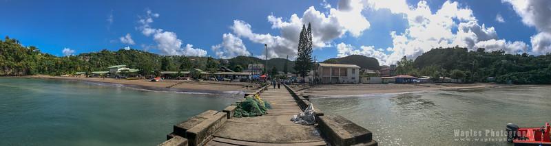 Dock in Soufrière