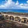 Fort Arcade and Atlantic Ocean
