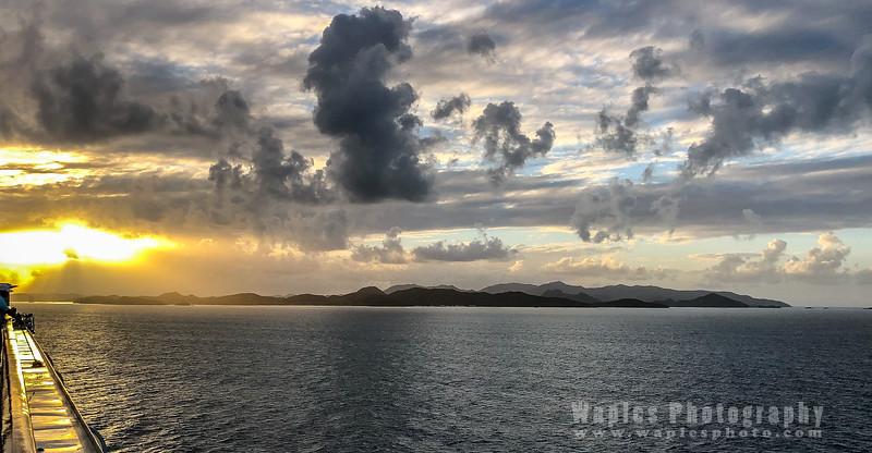 Sunrise, Antigua Island