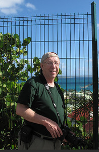 "We stopped just outside a gated community.  All the islands had gated or fenced areas, but we did not see ""burglar bars"" on the windows of businesses anywhere we visited.  We always felt very safe on the islands, even when off on our own."