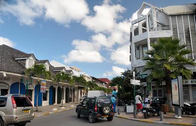 Another street in Marigot.