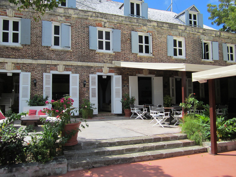 Admiral's Inn at Nelson's Dockyard in English Harbor, Antigua.