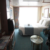 A glimpse at our balcony room.  We liked having the couch closer to the entry.