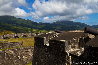 At Brimstone Hill Fortress, St. Kitts