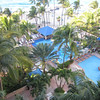 View from our room on the 8th floor at San Juan Marriott Resort & Stellaris Casino.