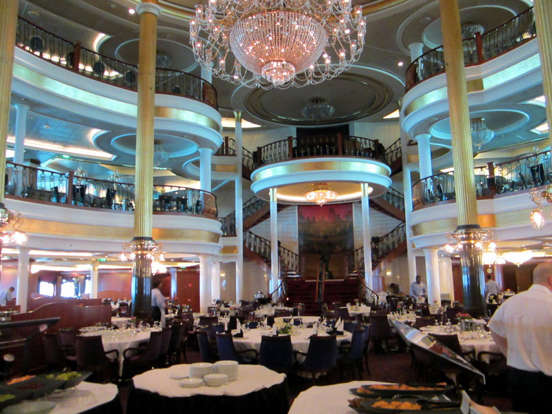The main dining room had three levels, each named after a composer.