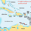 mapcaribbeanports