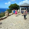 Arriving at Shirley Heights, Antigua.