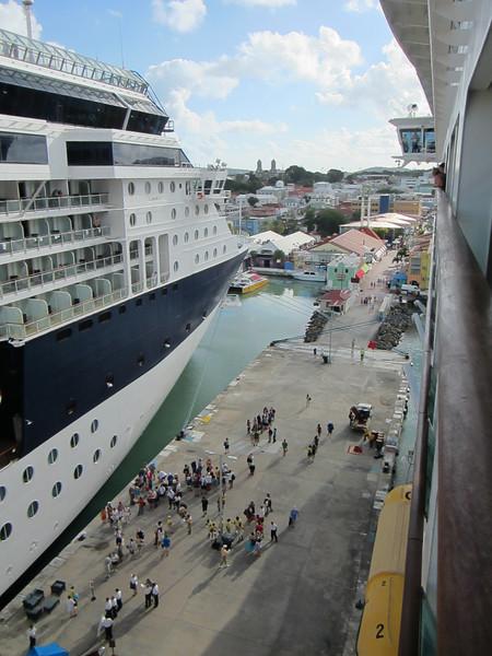 Celebrity Summit docked at St. John's, Antigua.