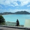 Looking back into Philipsburg, St. Maarten.