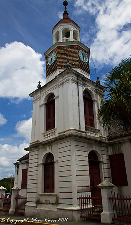 Steeple Building - St. Croix, Virgin Islands