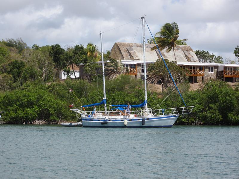 Nelson's Dockyard in English Harbor, Antigua.